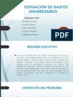 Inv. Gastos Universitarios