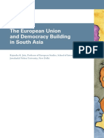 EU and Democracy Building in South Asia [2009]