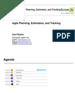 Agile Planning Estimation