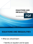 Equations With w.p.