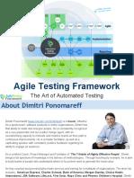 Agile Testing Framework