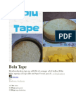1 Bolu Tape