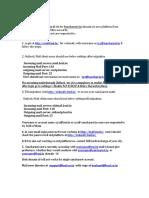 Sancharnet Outlook Procedure-bbclass