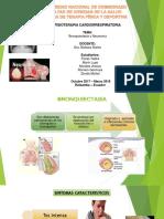 Bronquioectasia y Neumonia