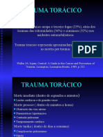 Aula - TRAUMA TORÁCICO