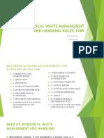 Bio-medical Waste Management