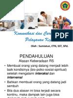 Komunikasi dan Caring dalam Pelayanan Keperawatan-bu Mia.pptx