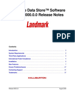 CDS ReleaseNotes