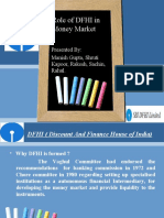 Role of DFHI in Money Market