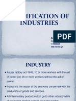 Types of Industries