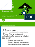 HP ProLiant BL460c G5 Server Blade Customer Presentation