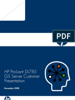 HP ProLiant DL785 G5 CustomerPresentation 20080728