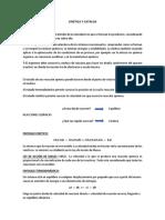 Apuntes Cinética y Catálisis Unidad I