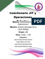 Cuestionario de Administracion de Operaciones