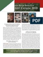 TBR 2018 Catalog