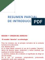 Resumen Parcial de Introduccic3b3n