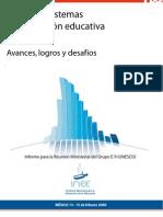 Políticas y Sistema de Evaluación en México - INEE 2009