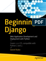 Beginning Django Web Development With Python