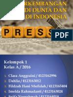 Perkembangan Pers Di Indonesia Dan Di Dunia