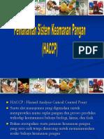 Pemahaman Sistem Kemananan Pangan (HACCP)