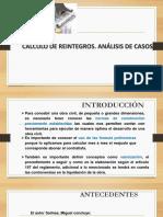 Calculo de Reintegros y Analisis de Casos