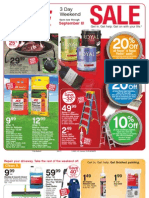 Seright's Ace Hardware 3 Day Weekend Sale
