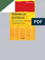 [2013] Les Réseaux Sociaux - 101 Questions Juridiques