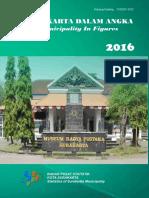 Kota Surakarta Dalam Angka 2016