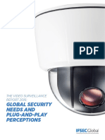 The Video Surveillance Report 2016 Global Security Needs and Plug and Play Perceptions FINAL