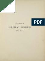 Catalogue of European Daggers