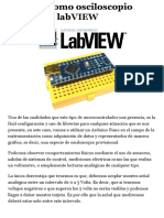 Arduino Como Osciloscopio Utilizando LabVIEW - GameloggerGamelogger