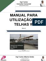 Manual Para Utilização de Telhas W - Parte 1