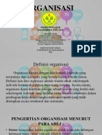 Dasar-Dasar Manajemen - Organisasi
