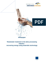 Whitepaper Wastewater Treatment in the Dairy Processing Industry