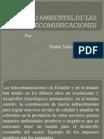 Impacto Ambiental de Las Telecomunicaciones