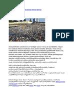Pengolahan Sampah Plastik Menjadi Minyak Mentah