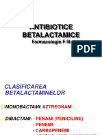 Antibiotice betalactamice