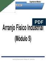 Arranjo Físico Industrial - Módulo 5