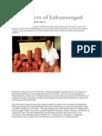 The Potters of Ezhumangad