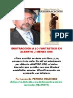 La Sustracción a Lo Fantástico Enalberto Jiménez Ure (Por Pereira Meléndez)