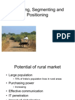 35399429 Targeting Segmenting and Positioning in Rural Marketing (1)
