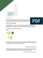 Apuntes y Actualidad Mendel