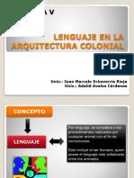 Lenguaje en La Arquitectura
