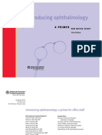 Introducing Ophthalmology a Primer for Office Staff 3rd Ed