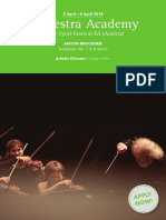 Orchesterakademie Der Tiroler Festspiele Erl Oboe