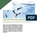 Diferencias abisales en los directivos del IBEX 35 y el resto de trabajadores