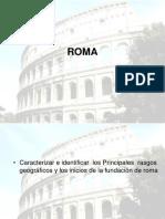 Roma Inicios