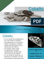 Cobalt o