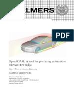 Bastian-Nebenfuhr-OpenFOAM a Tool for Predicting Automotive Flow Fields