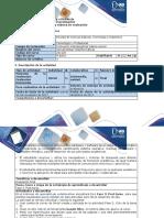Guía de Actividades y Rúbrica de Evaluación - Fase 3 Post-tarea